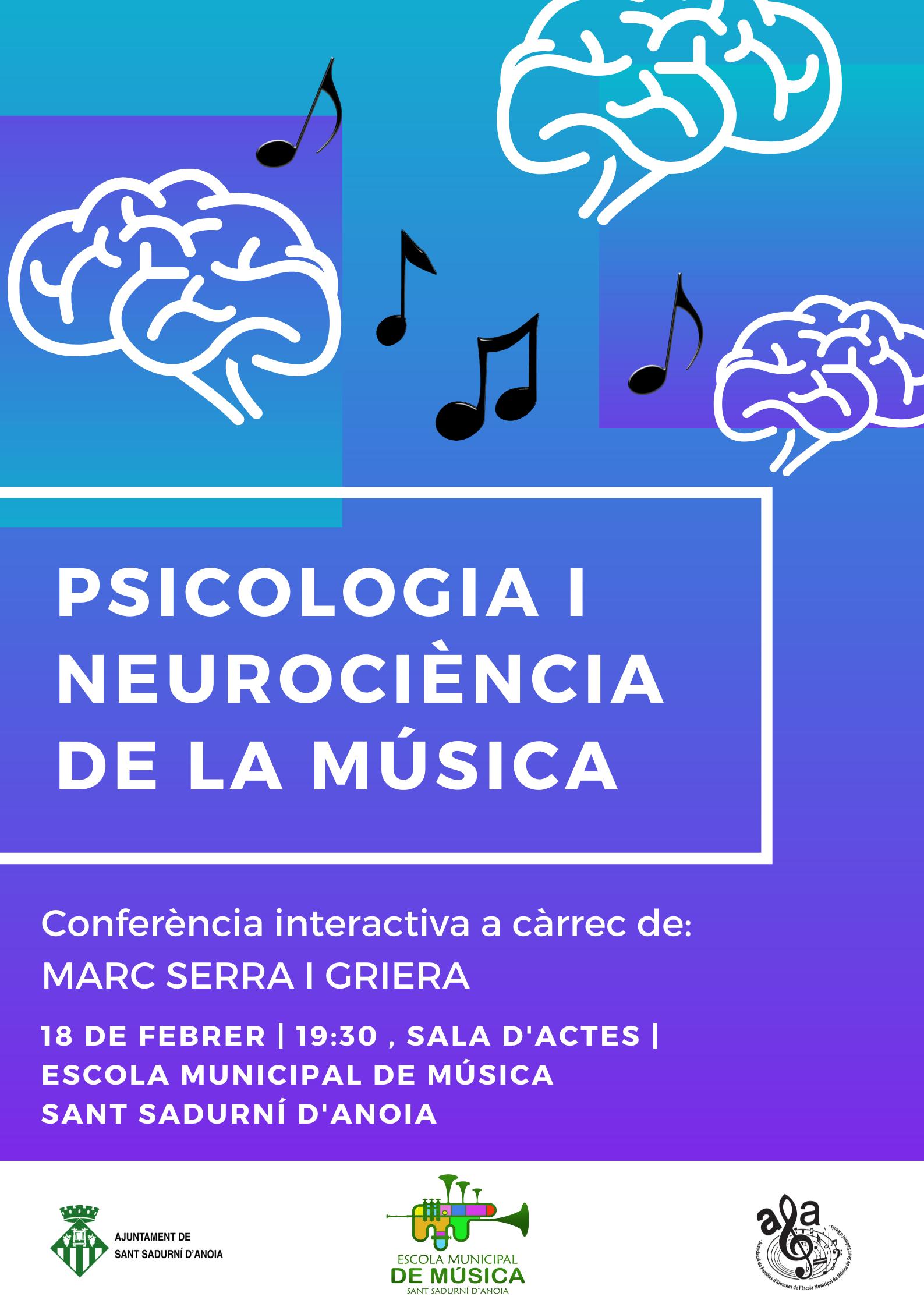 Póster Psicologia i Neurociència