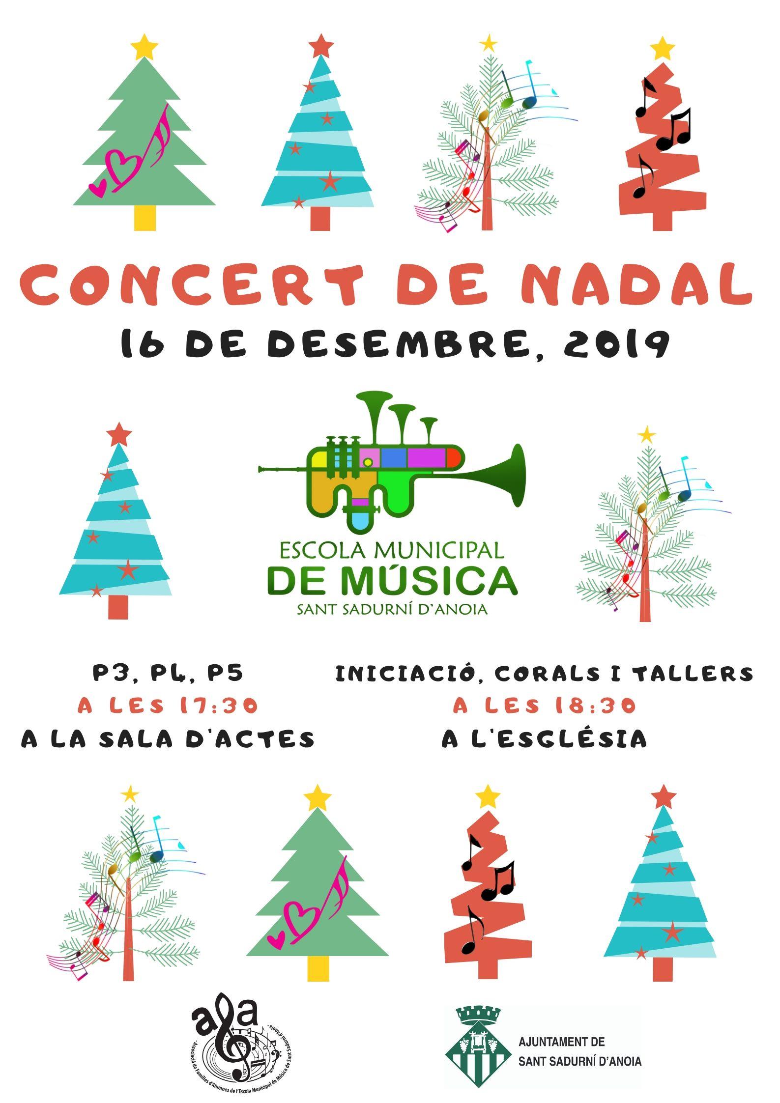 Póster Concert Nadal