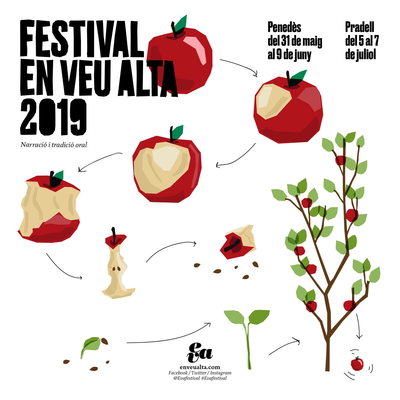 Eva festival cartell quadrat